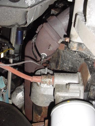 EGT Probe Install 02 Ex - Ford Powerstroke Diesel Forum