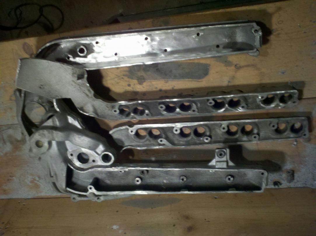 D Diy Ported Intake Resampled on Ford 5 4 Intake Manifold