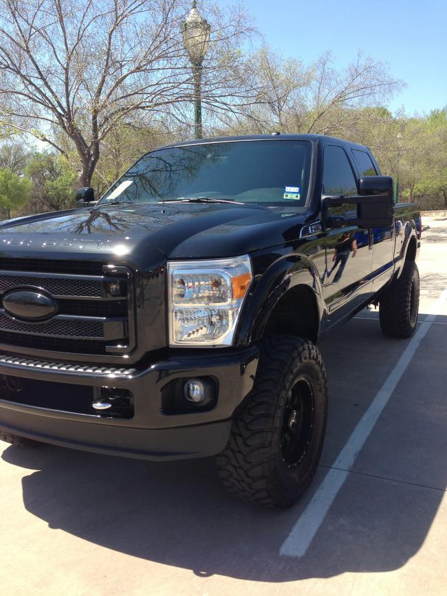 how to paint a platinum grill - Ford Powerstroke Diesel Forum
