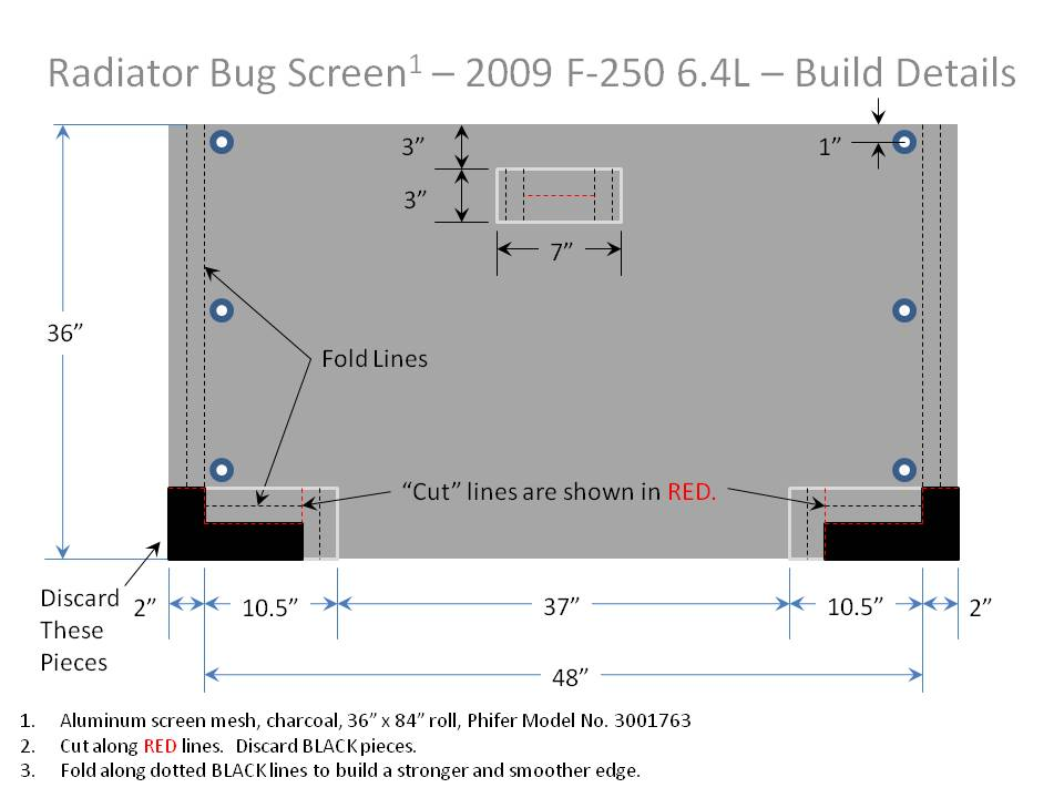 Engine Cooling -  Radiator Bug Screen-screen-build-detail.jpg