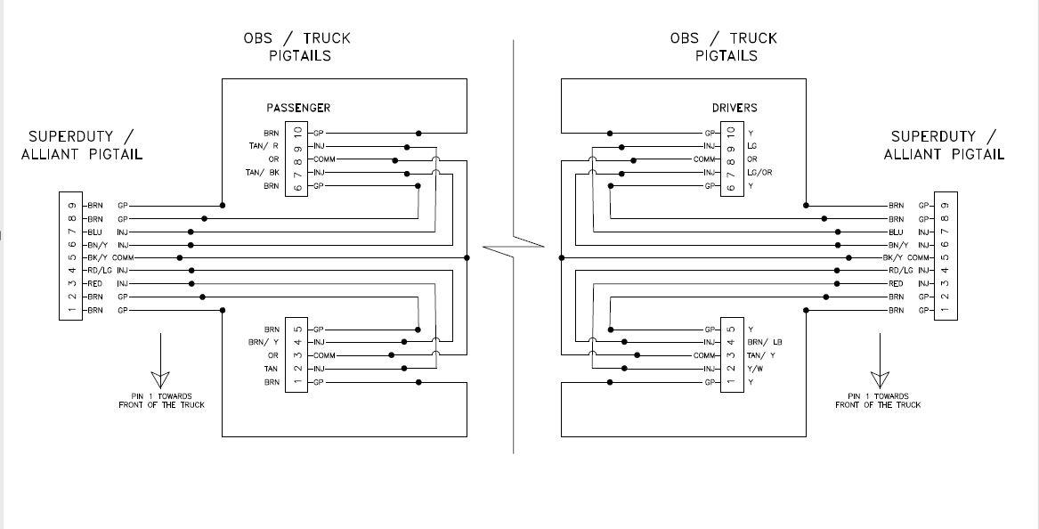 Glow Plug overuse? Melting Pins? - Ford Powerstroke sel Forum  Uvch Wiring Diagram on 7.3 exhaust diagram, 7.3 fuse diagram, 99 7.3 powerstroke engine diagram, 7.3 fuel diagram, 7.3 relay diagram, 7.3 starter diagram, 7.3 sensor diagram, 7.3 parts diagram, 2000 ford 7.3 engine diagram, 7.3 transmission diagram, 7.3 oil diagram, 7.3 powerstroke injector harness diagram,