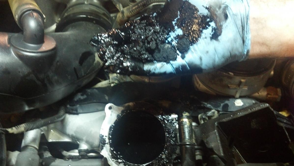 NEW PTP 6.4L EGR/Cooler Delete Kits!!!-sludge.jpg