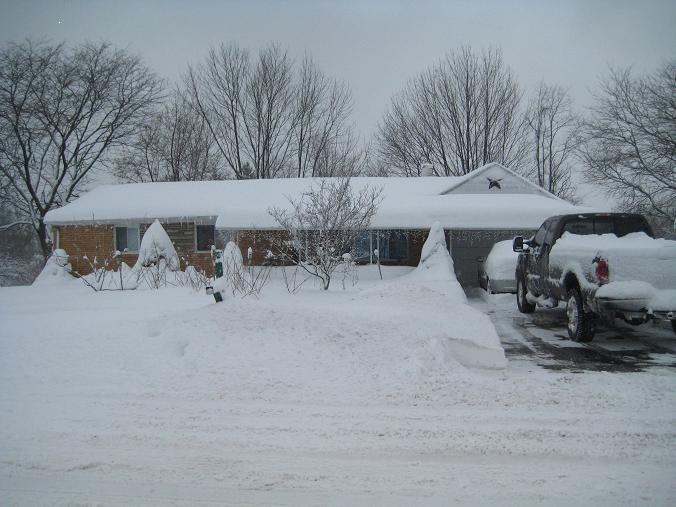 East Coast Weather - SNOW!-snowfrontof-house.jpg