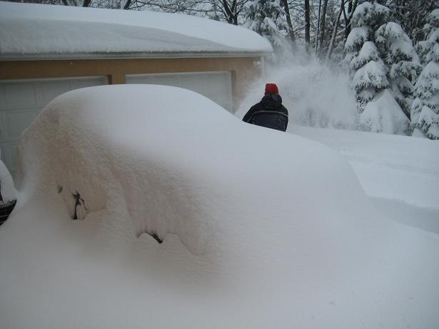 East Coast Weather - SNOW!-snowonmustang.jpg