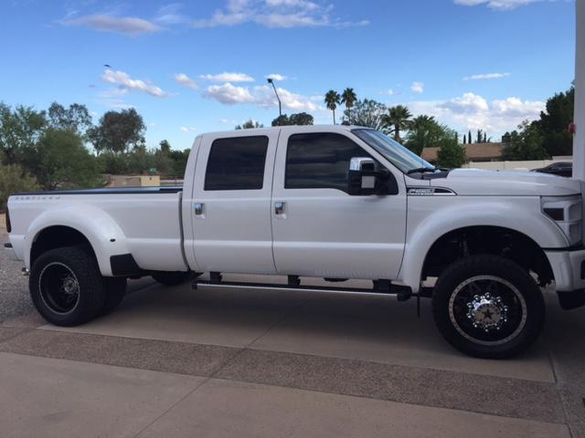 My Custom 2015 Platinum Dually Build Ford Powerstroke