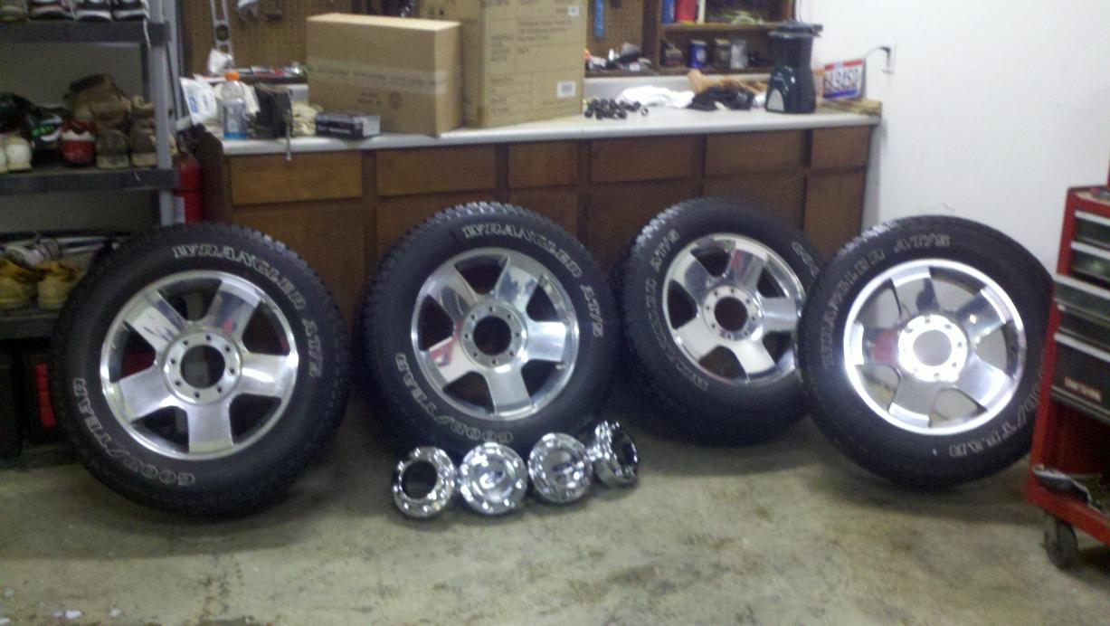 07 F 250 Tires And Wheels For Sale Ford Powerstroke