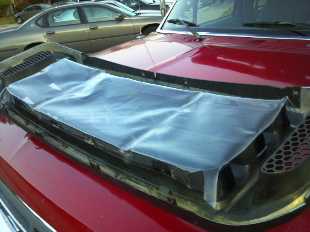 Homemade Front Grill Cover Ford Powerstroke Diesel Forum