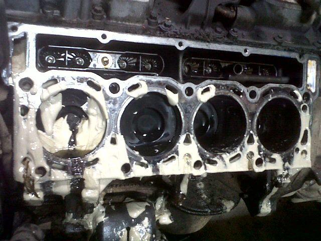 D Pics My Oil Cooler Failure Truck