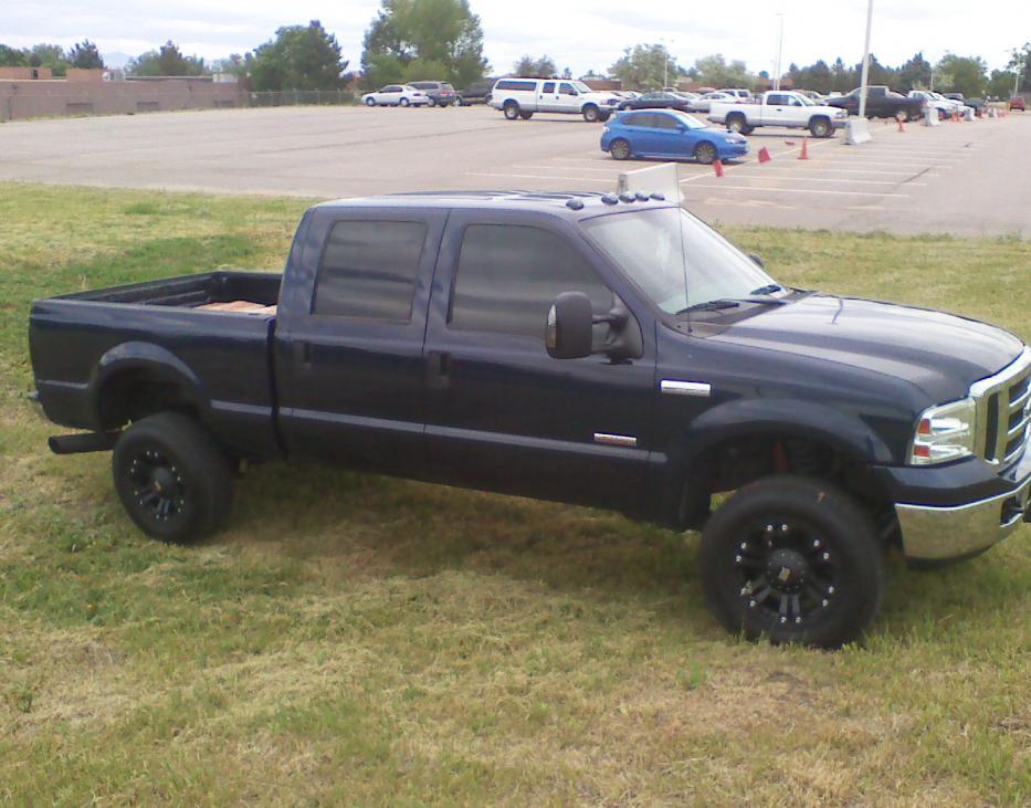 Black Truck Black Rims Ford Powerstroke Diesel Forum