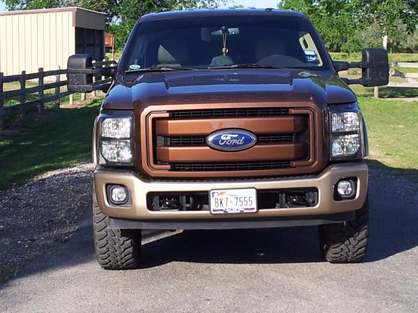 Painted Grille, Headlights & King Ranch Bumper Added-trucklight2.jpg