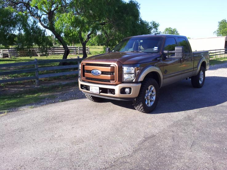 Painted Grille, Headlights & King Ranch Bumper Added-trucklight3.jpg