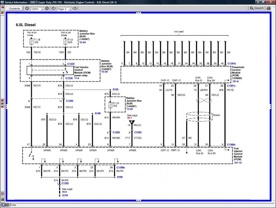 Ford 6 0 Wiring Harness Diagram - Jetta Center Console Wiring Diagram for  Wiring Diagram SchematicsWiring Diagram Schematics