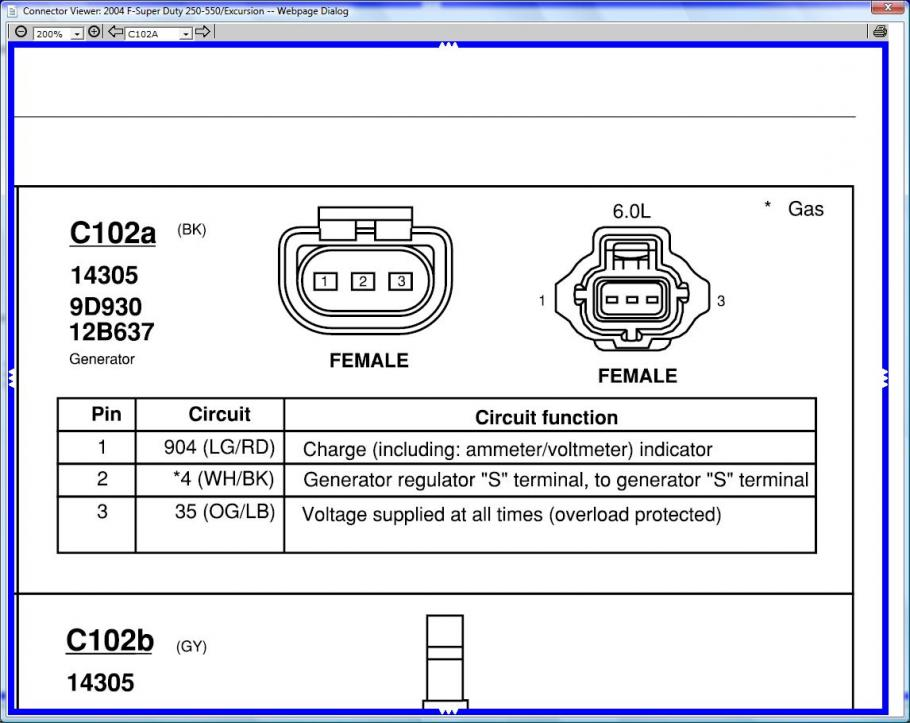 Alternator wiring | Ford Powerstroke Diesel Forum | Ford F350 Alternator Wiring |  | Powerstroke.org