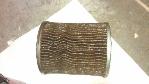 Coolant filter after 5 weeks and 2500kms-uploadfromtaptalk1346374201184.jpg