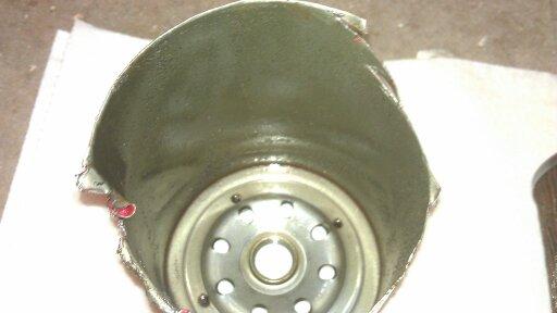 Coolant filter after 5 weeks and 2500kms-uploadfromtaptalk1346374231049.jpg