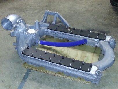 Custom intake manifold - Ford Powerstroke Diesel Forum