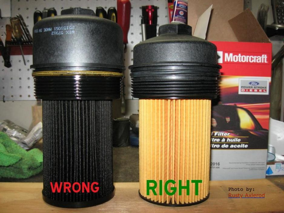 Wix Oil Filter Go Or No Go  - Page 2