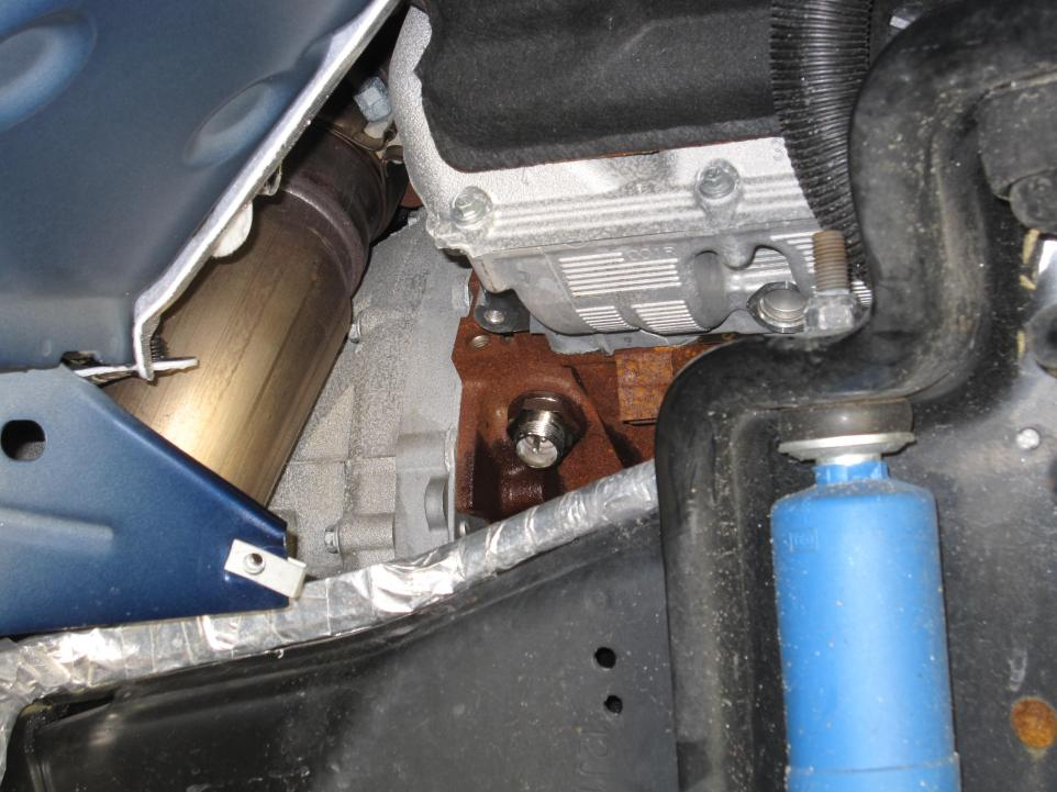 ford f250 block heater location