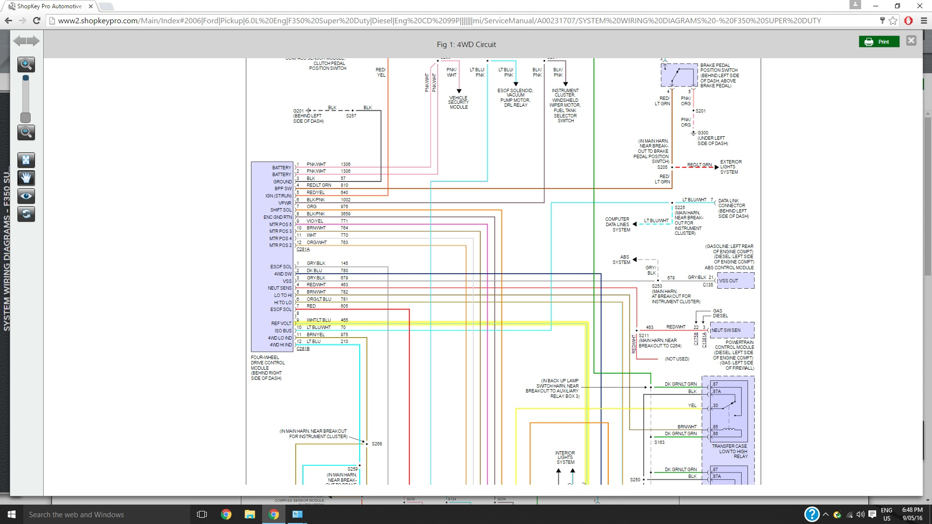 561745d1473126874 4x4 not working 2006 f350 wiringdiagram 4x4 not working 2006 f350 page 2 ford powerstroke diesel forum 2006 f350 4x4 wiring diagram at beritabola.co